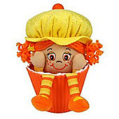 "Little Miss Muffin 9"" Little Miss Pumpkin Orange Hair And Yellow Hat"