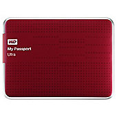Western Digital My Passport Ultra 1TB Red