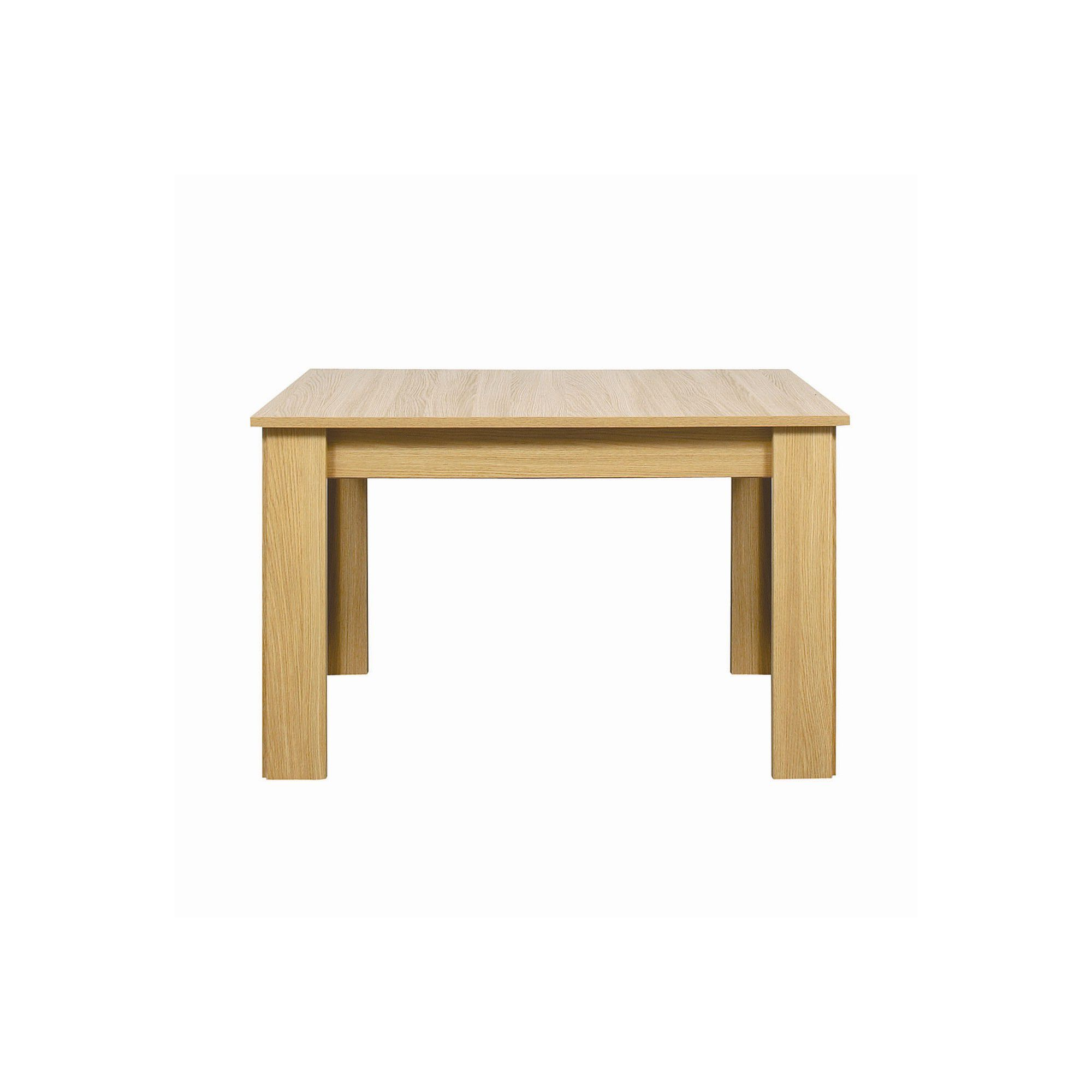 Other Caxton Huxley 4 Leg Compact Extending Dining Table in Light Oak