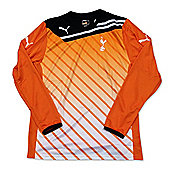 2010-11 Tottenham Home Goalkeeper Shirt (Orange) - Orange