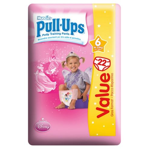 Huggies Pull Ups Size 4 Girl Economy Pack 22