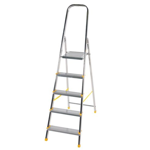 DIY 5 Tread Platform Step Ladder