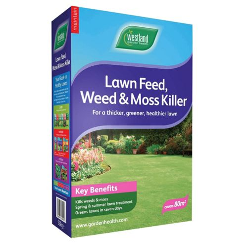 Westland Lawn Feed Weed & Moss Killer Box 80m2