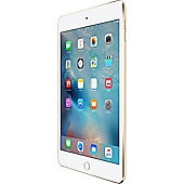 Apple iPad mini 4, 32GB with Wi-Fi + Cellular for Apple SIM - Gold