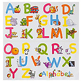Learn Together Moveable Wall Stickers - Alphabet