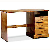 Henley -solid Wood Desk / Dressing Table - Stained Lacquer