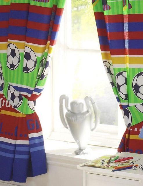 Football Curtains 54s