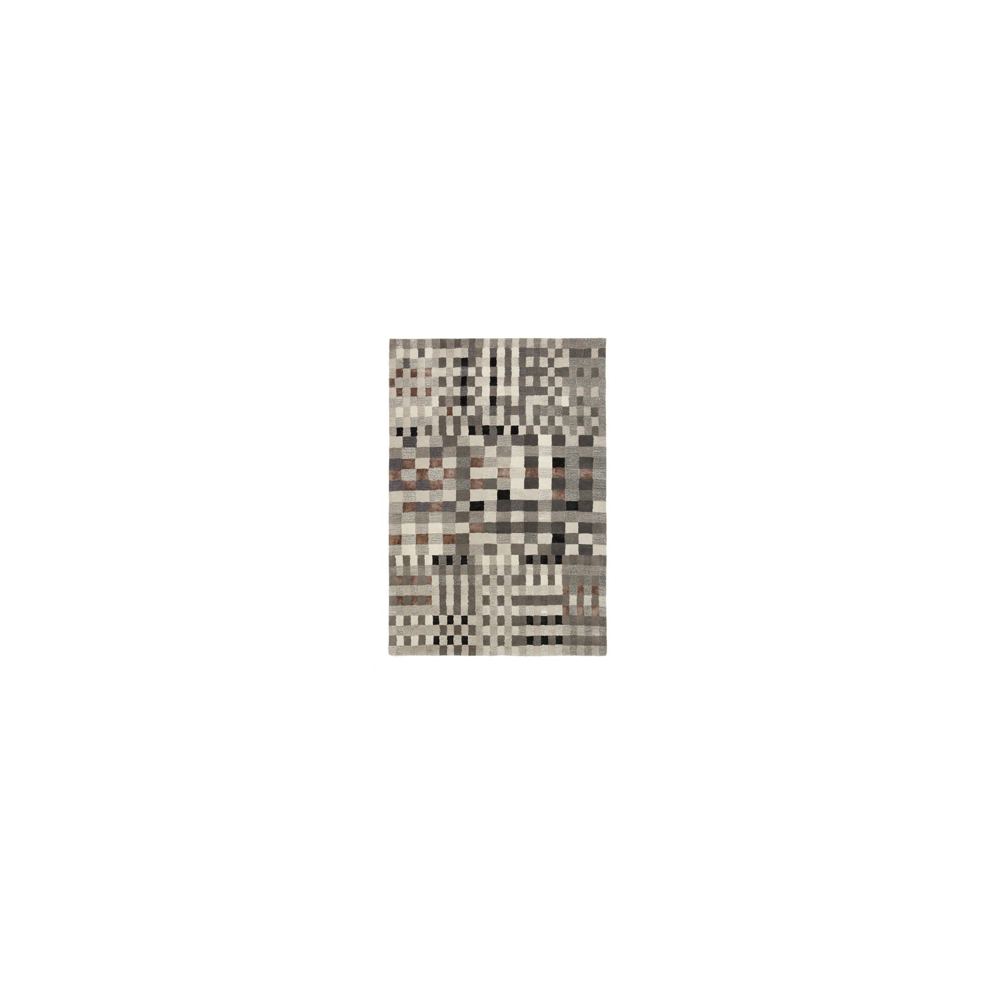 Linie Design Jason Grey Rug - 240cm x 170cm at Tesco Direct