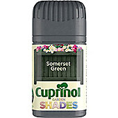 Cuprinol Garden Shades Tester - Somerset Green - 50ML