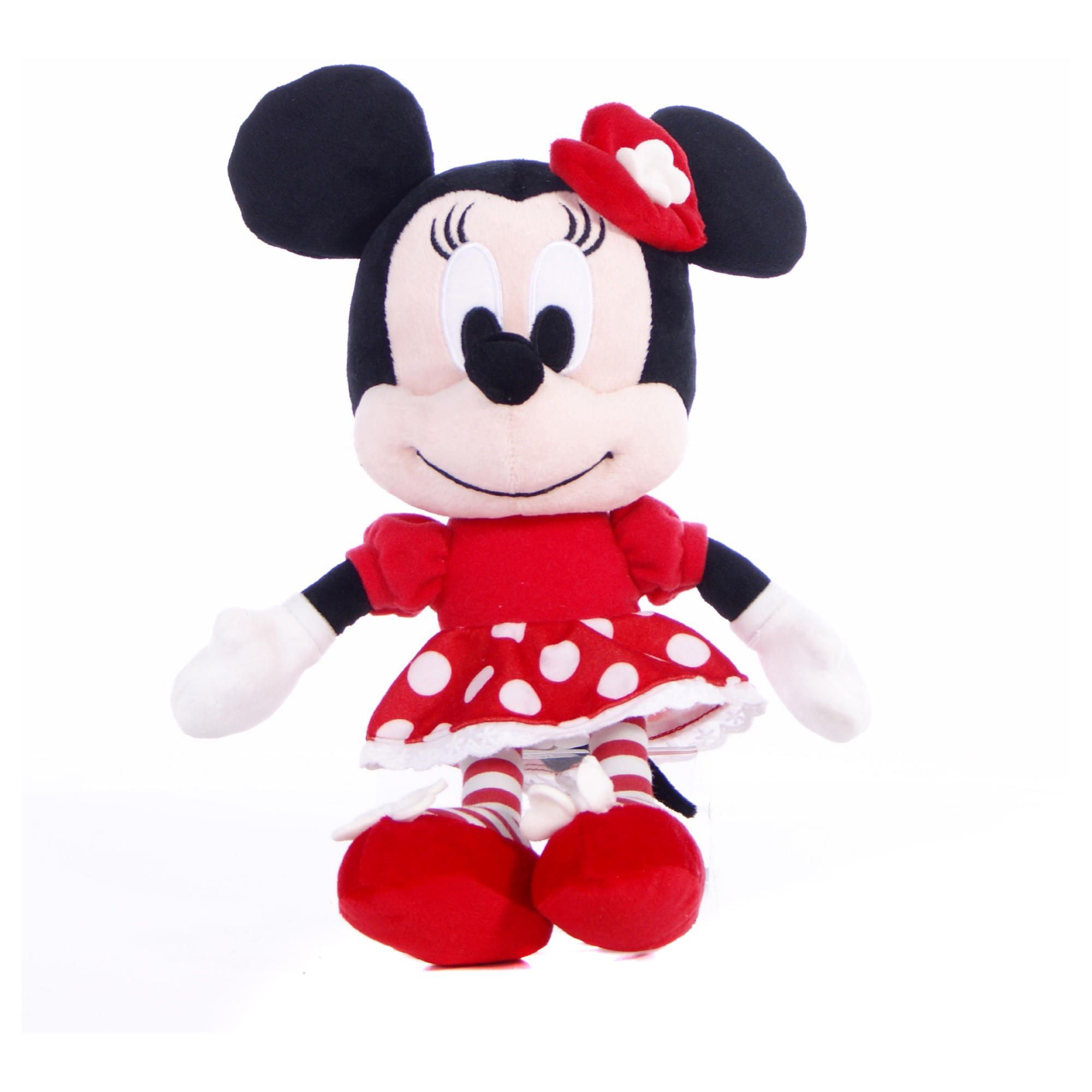 10'' I Love Minnie in Red and White Spot Dress