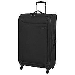 IT Luggage Megalite 4-Wheel Suitcase, Black Large