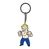 Fallout 4 Strength Skill Keychain - Small Gifts