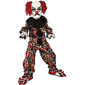 Scary Clown - Child Costume 9-12 years