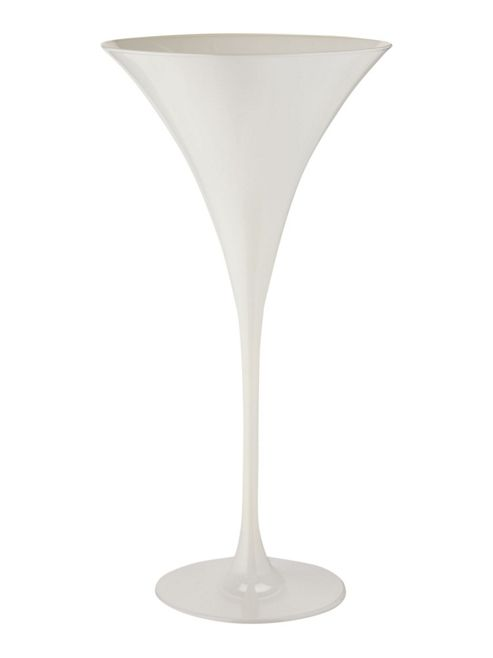 Linea Ghost Martini Glass In White