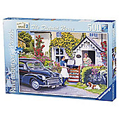Ravensburger Happy Days at Work, The District Nurse 500-Piece Jigsaw Puzzle