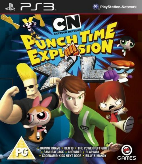 Cartoon Network - Punch Time Explosion