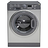 Hotpoint Extra WMXTF942G Washing Machine, 9Kg Wash Load, 1400 RPM Spin, A++ Energy Rating, Graphite