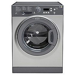 Hotpoint WMXTF942G Extra, Freestanding Washing Machine, 9Kg Wash Load, 1400 RPM Spin, A++ Energy Rating, Graphite