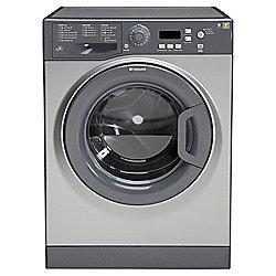 Hotpoint Extra Washing Machine, WMXTF942G, 9KG Load, Graphite