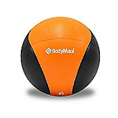 Bodymax Medicine Ball - Black/Orange 6kg