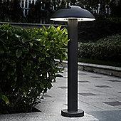 Lutec Spril Pillar Light in Graphite - Medium