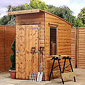 Mercia Garden Products Curved Roof Aero Shed - 215 cm H x 125 cm W x 210 cm D