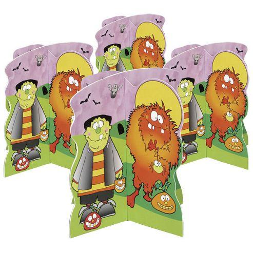 Little Monsters Party Mini 3D Decorations