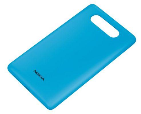 Nokia CC-3041 Wireless Charging Shell Case for Nokia Lumia 820 - Blue