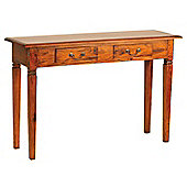 Ancient Mariner Mahogany Village Batavia Hall Table