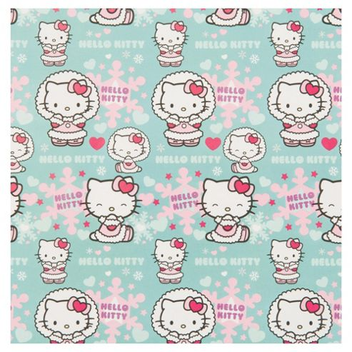 Hello Kitty Christmas Wrapping Paper, 5m
