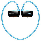 Sony NWZW273SL 4GB Overhead MP3 Blue