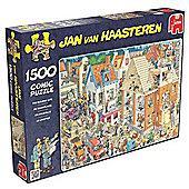 Jan van Haasteren Building Site Jigsaw Puzzle (1500 Pieces)