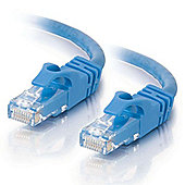Cables To Go 0.5 m Cat6 550 MHz Snagless Patch Cable - Blue