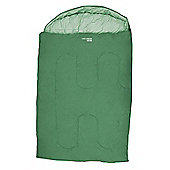 Yellowstone Ashford Double 300 Sleeping Bag Green