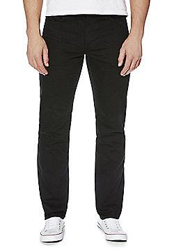 F&F Black Straight Leg Jeans - Black