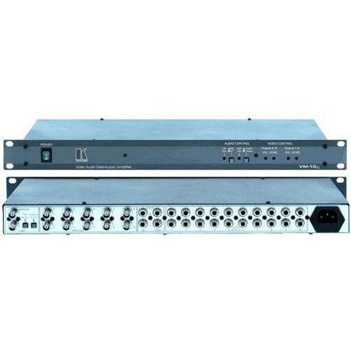 Kramer Electronics Vm10Xl 1X10 Composite And Audio Distribution Amplifier