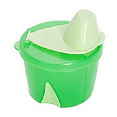 Clevamama Infant Formula Travel Container Green