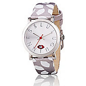 Lulu Guinness Glamour Lip Print Ladies Date Display Watch - LG20009S03X