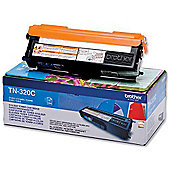 Brother TN-320C Toner Cartridge - Cyan