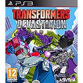 Transformers - Devastation PS3
