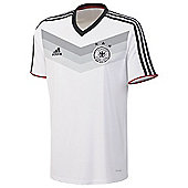 2014-15 Germany Adidas Home Replica Tee - White
