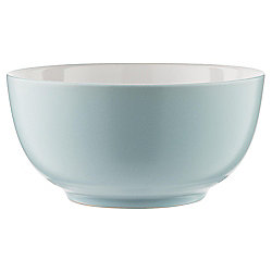 Tesco Two Tone Stoneware Cereal Bowl, Duck Egg