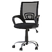 Odette Black Office Chair