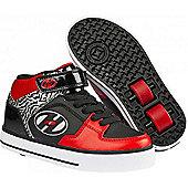 Heelys Cruz Red/Black Heely Shoe - Red