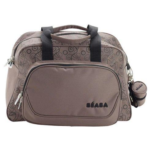 buy beaba geneva changing bag taupe black from our baby changing bags range tesco. Black Bedroom Furniture Sets. Home Design Ideas