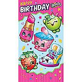 Shopkins Happy Birthday Card