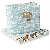 Baby Joule Cosy Cot Bed Quilt and Brilliant Cot Bed Bumper (On the Farm)