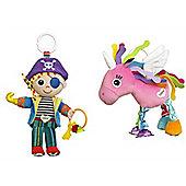 Lamaze Bundle - Yo- ho Horace And Tilly Twinklewings - 2 Items Supplied
