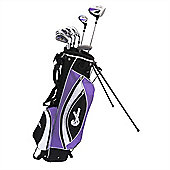 Confidence Power Ii Golf Clubs Set Bag Ladies Right Hand
