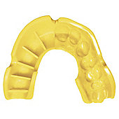 Opro Mouthguard Silver Black / Yelllow